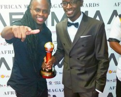 DJ Simple Simon Sole Kenyan Winner at the 2015 AFRIMMA Awards