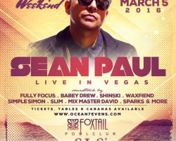 Sean Paul Live In Vegas