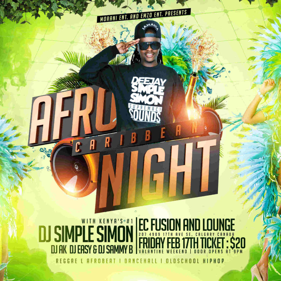 Caribbean Sound Caribbean Sound: Afro Caribbean Night Supremacy Sounds