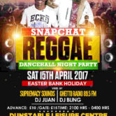 Snapchat Reggae Dancehall Night Party